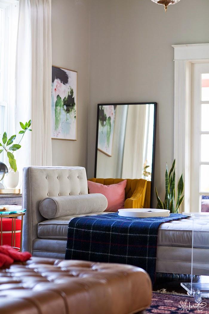 Laura S Living Room Reveal The Makerista