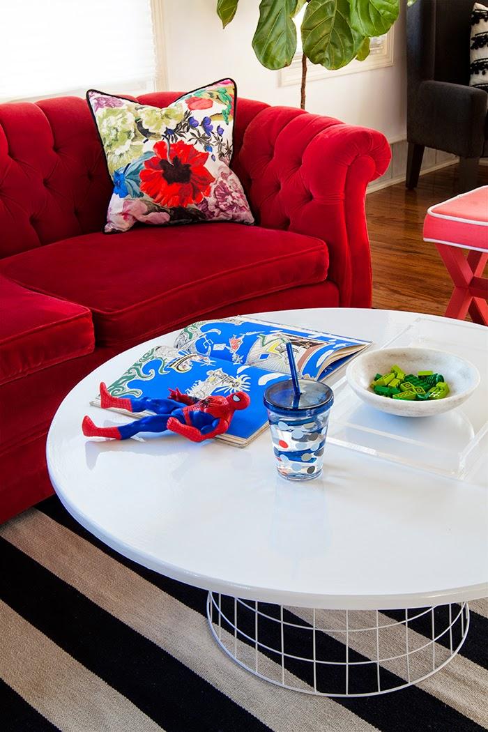 Enjoyable The Makerista Wire Basket Coffee Table Diy Orangerie Target Dailytribune Chair Design For Home Dailytribuneorg