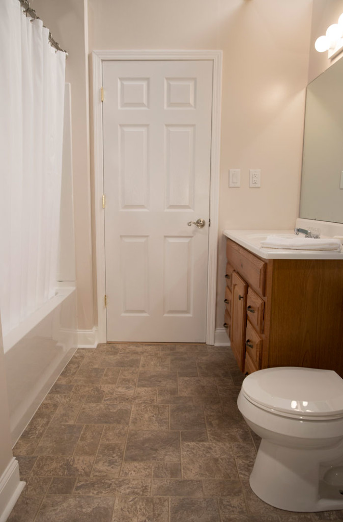 builder bathroom makeover a vs builder grade bathroom makeover the makerista 12201