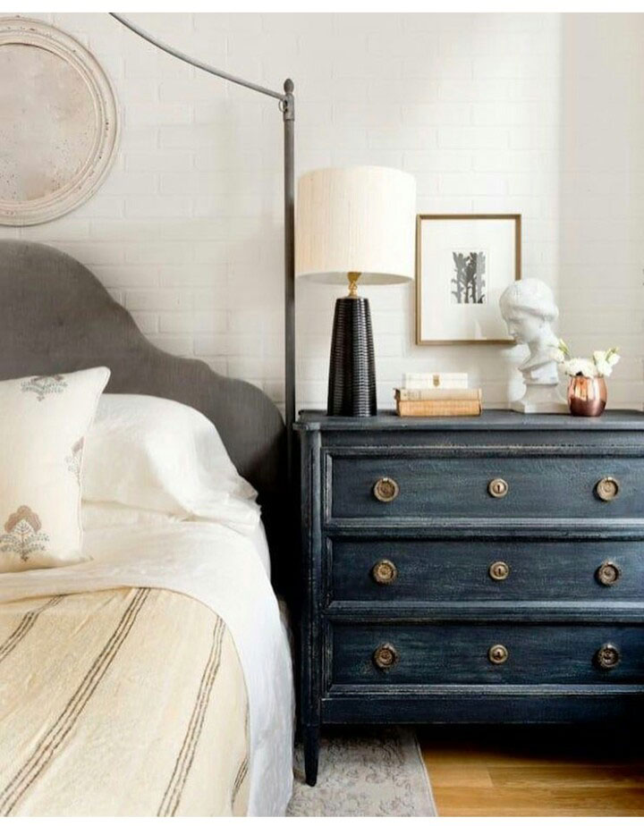 master bedroom: the starting point - the makerista Dresser and Nightstand