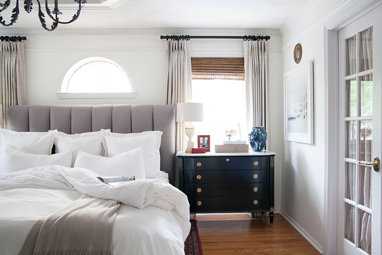The-Makerista-Master-Bedroom-White-Walls-Traditional ...