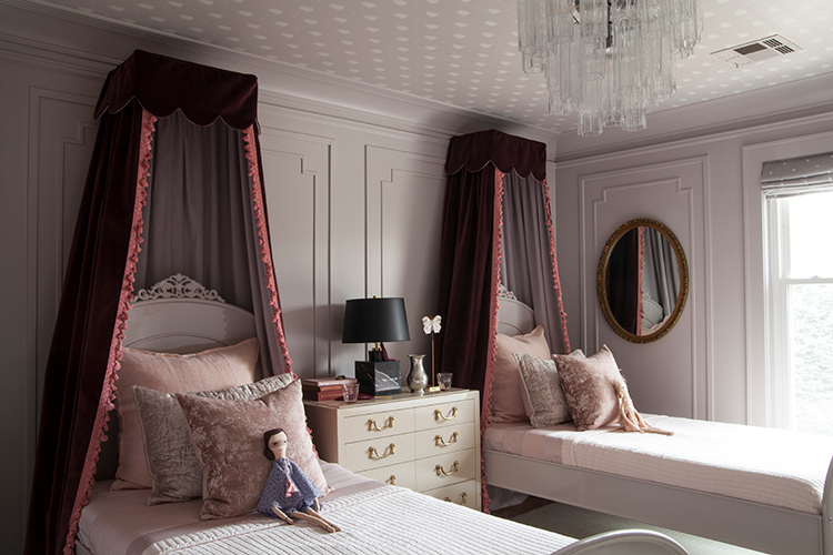 Bed crown coronet canopy