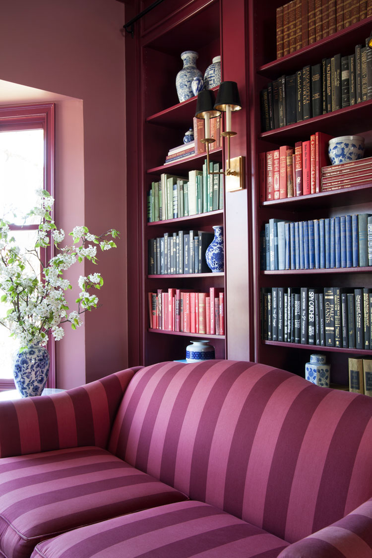 The-Makerista-Red-Library-Red-Striped-Sofa-IMG_3142 - The Makerista